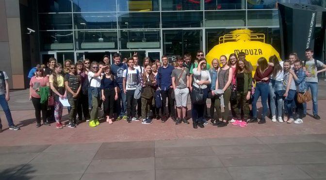 Wycieczka do CNK w Warszawie